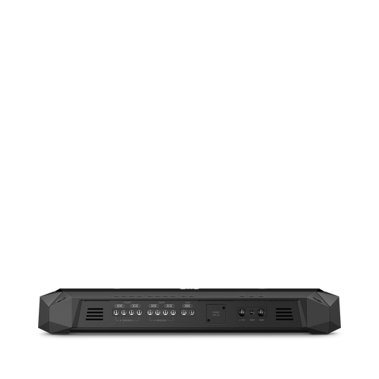 Club 4505 - Black - Mono, 4 and 5-channel amplifiers with a compact footprint for ease of installation into a larger variety of vehicles. - Front