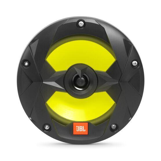 "Club Marine MS65LB - Black Matte - Club Marine MS65LB—6-1/2"" (160mm) two-way marine audio multi-element speaker with RGB lighting – Black - Detailshot 2"