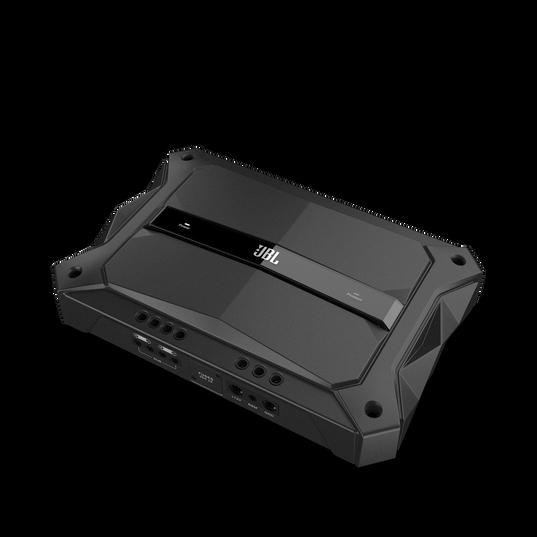 GTR-601 - Black - High Performance Mono Car Audio Subwoofer Amplifier - Hero