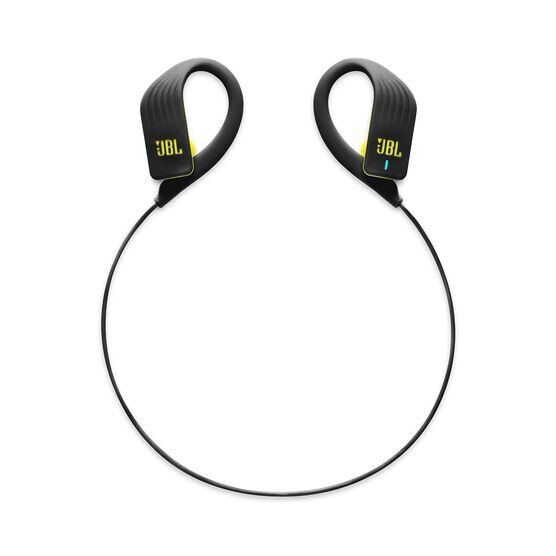 JBL Endurance SPRINT - Yellow - Waterproof Wireless In-Ear Sport Headphones - Detailshot 2