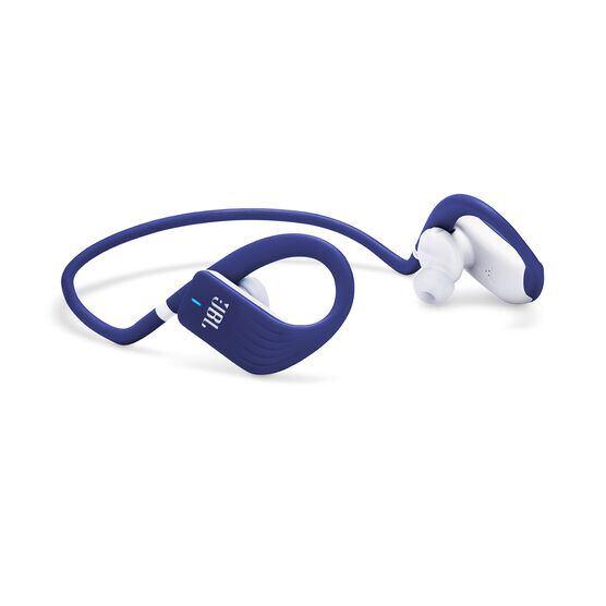 JBL Endurance JUMP - Blue - Waterproof Wireless Sport In-Ear Headphones - Detailshot 1