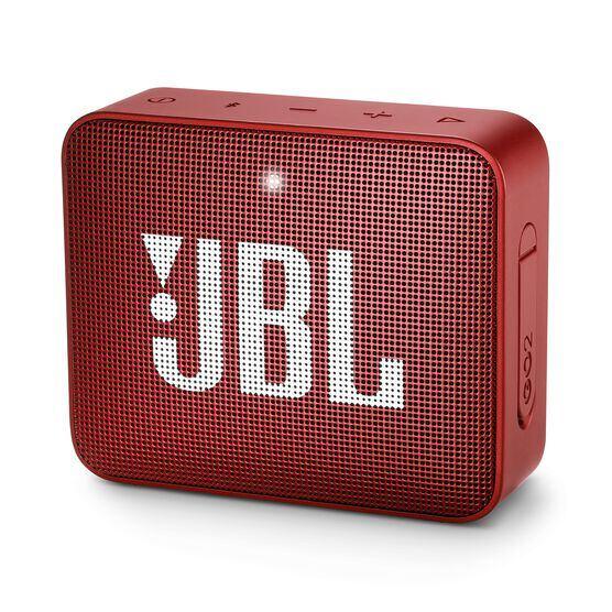 JBL GO 2 - Ruby Red - Portable Bluetooth speaker - Hero