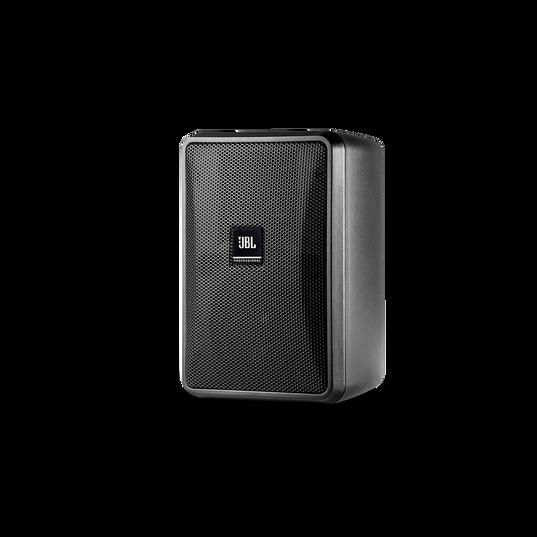 JBL Control 23-1 (Pair) - Black - Ultra-Compact Indoor/Outdoor Background/Foreground Speaker - Hero