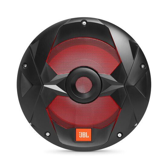"Club Marine MS10LB - Black Matte - Club Marine MS10LB—10"" (250mm) marine audio multi-element subwoofer with RGB lighting – Black - Detailshot 1"