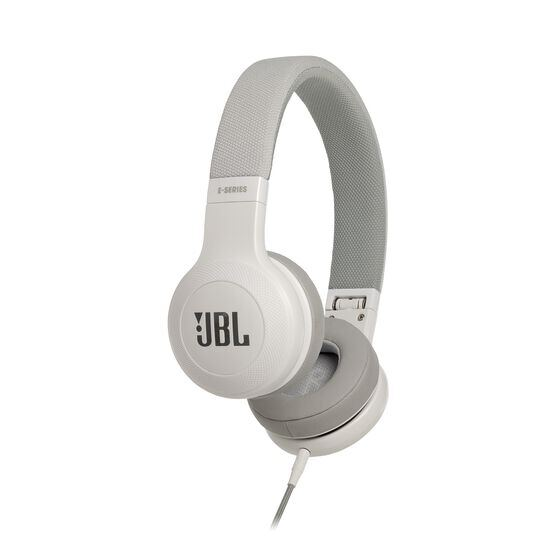 E35 - White - On-ear headphones - Hero