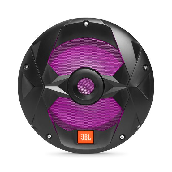 "Club Marine MS10LB - Black Matte - Club Marine MS10LB—10"" (250mm) marine audio multi-element subwoofer with RGB lighting – Black - Detailshot 2"