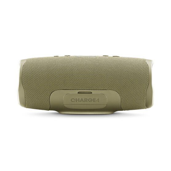 JBL Charge 4 - Sand - Portable Bluetooth speaker - Back