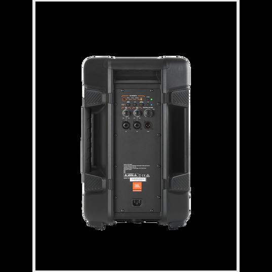 "JBL IRX108BT - Black - Powered 8"" Portable Speaker with Bluetooth® - Back"