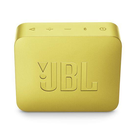JBL GO 2 - Lemonade Yellow - Portable Bluetooth speaker - Back