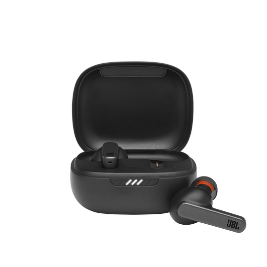 Live Pro+ TWS - Black - True Wireless In-Ear NC Headphones - Hero