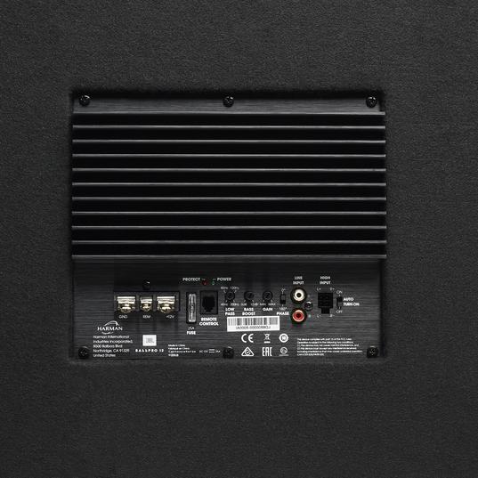 """JBL BassPro 12 - Black - 12"""" (300mm) Car Audio Powered Subwoofer System with Slipstream Port Technology - Detailshot 2"""