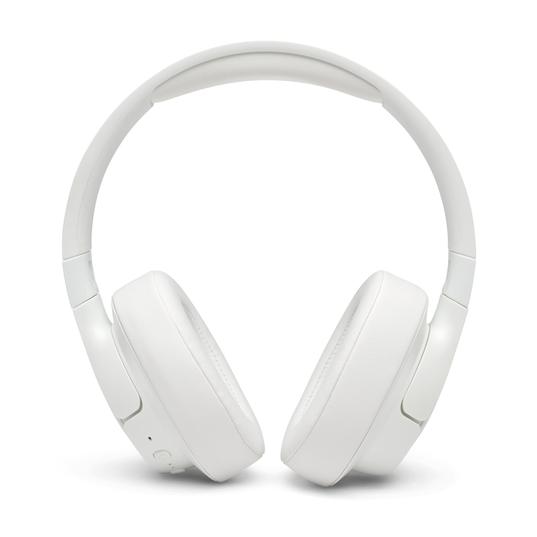 JBL TUNE 750BTNC - White - Wireless Over-Ear ANC Headphones - Front