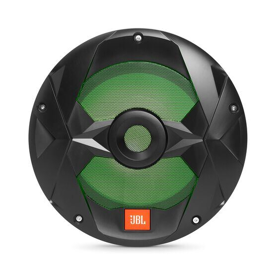 "Club Marine MS10LB - Black Matte - Club Marine MS10LB—10"" (250mm) marine audio multi-element subwoofer with RGB lighting – Black - Detailshot 3"