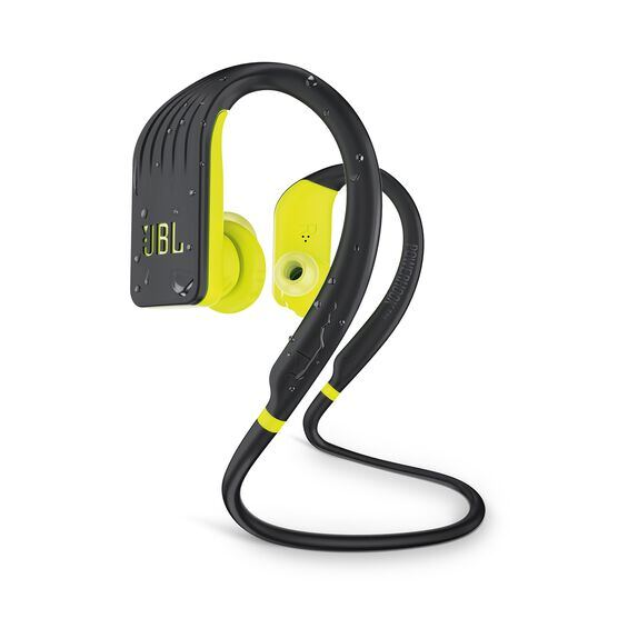 JBL Endurance JUMP - Yellow - Waterproof Wireless Sport In-Ear Headphones - Hero