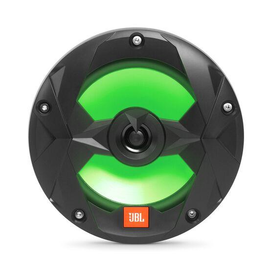 "Club Marine MS65LB - Black Matte - Club Marine MS65LB—6-1/2"" (160mm) two-way marine audio multi-element speaker with RGB lighting – Black - Detailshot 5"