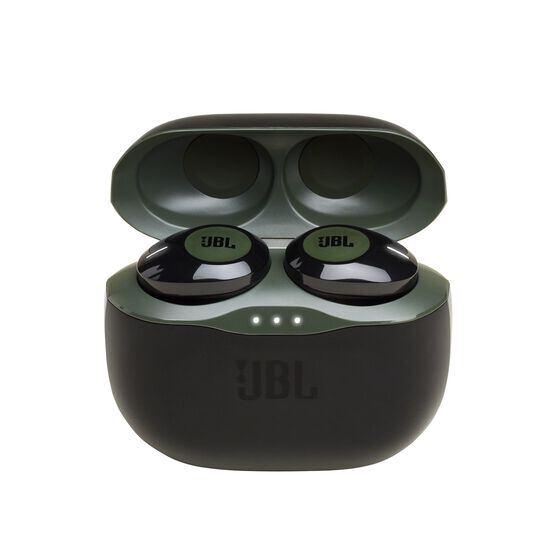 JBL TUNE 120TWS - Green - Truly wireless in-ear headphones. - Hero