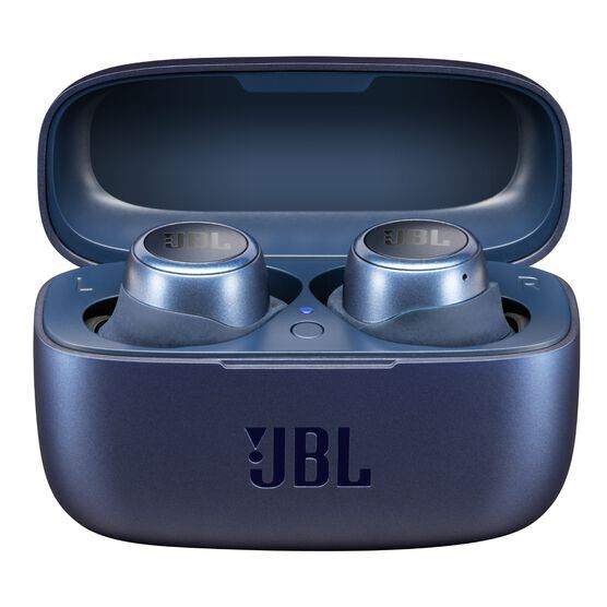 JBL LIVE 300TWS - Blue - True wireless in-ear headphones with Smart Ambient - Hero