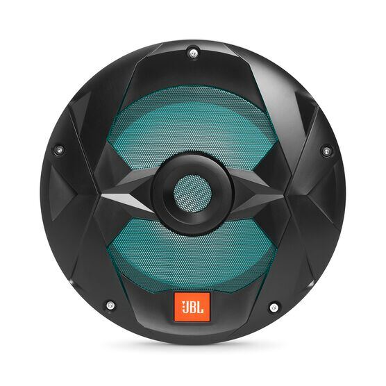 "Club Marine MS10LB - Black Matte - Club Marine MS10LB—10"" (250mm) marine audio multi-element subwoofer with RGB lighting – Black - Detailshot 5"