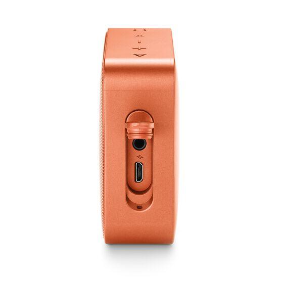 JBL GO 2 - Coral Orange - Portable Bluetooth speaker - Detailshot 4