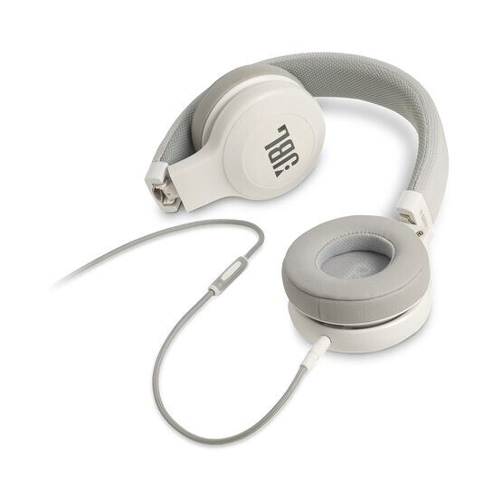E35 - White - On-ear headphones - Detailshot 3