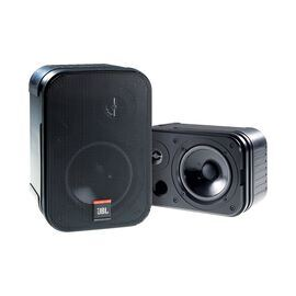 JBL Control 1 Pro (Pair) - Black - Two-Way Professional Compact Loudspeaker System - Hero