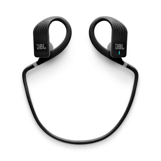JBL Endurance JUMP - Black - Waterproof Wireless Sport In-Ear Headphones - Detailshot 2