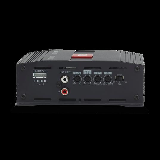 JBL Stage Amplifier A6002 - Black - Class D Car Audio Amplifier - Back