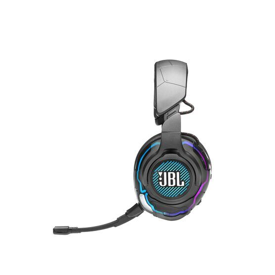 JBL Quantum ONE - Black - USB wired PC over-ear professional gaming headset with head-tracking enhanced JBL QuantumSPHERE 360 - Detailshot 4