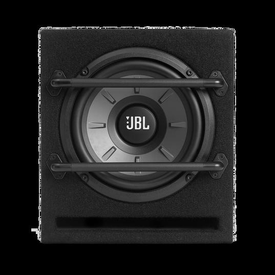 "JBL Stage 800BA Enclosure - Black - Stage Series Powered 8"" (200mm) Subwoofer System - Front"