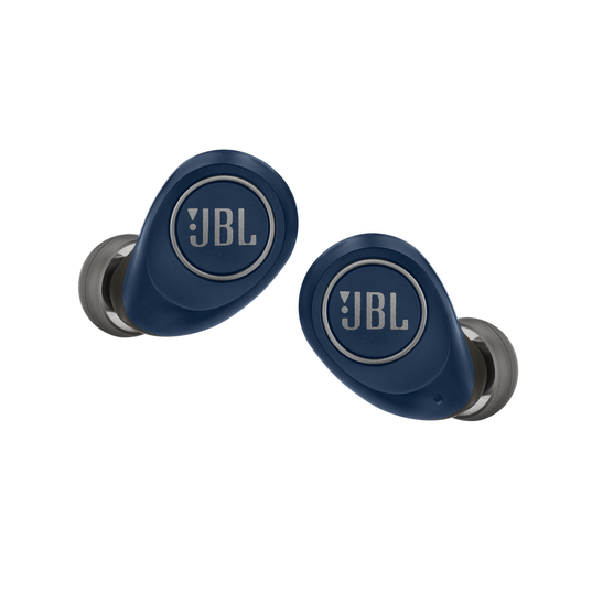 JBL Free X - Blue - True wireless in-ear headphones - Front