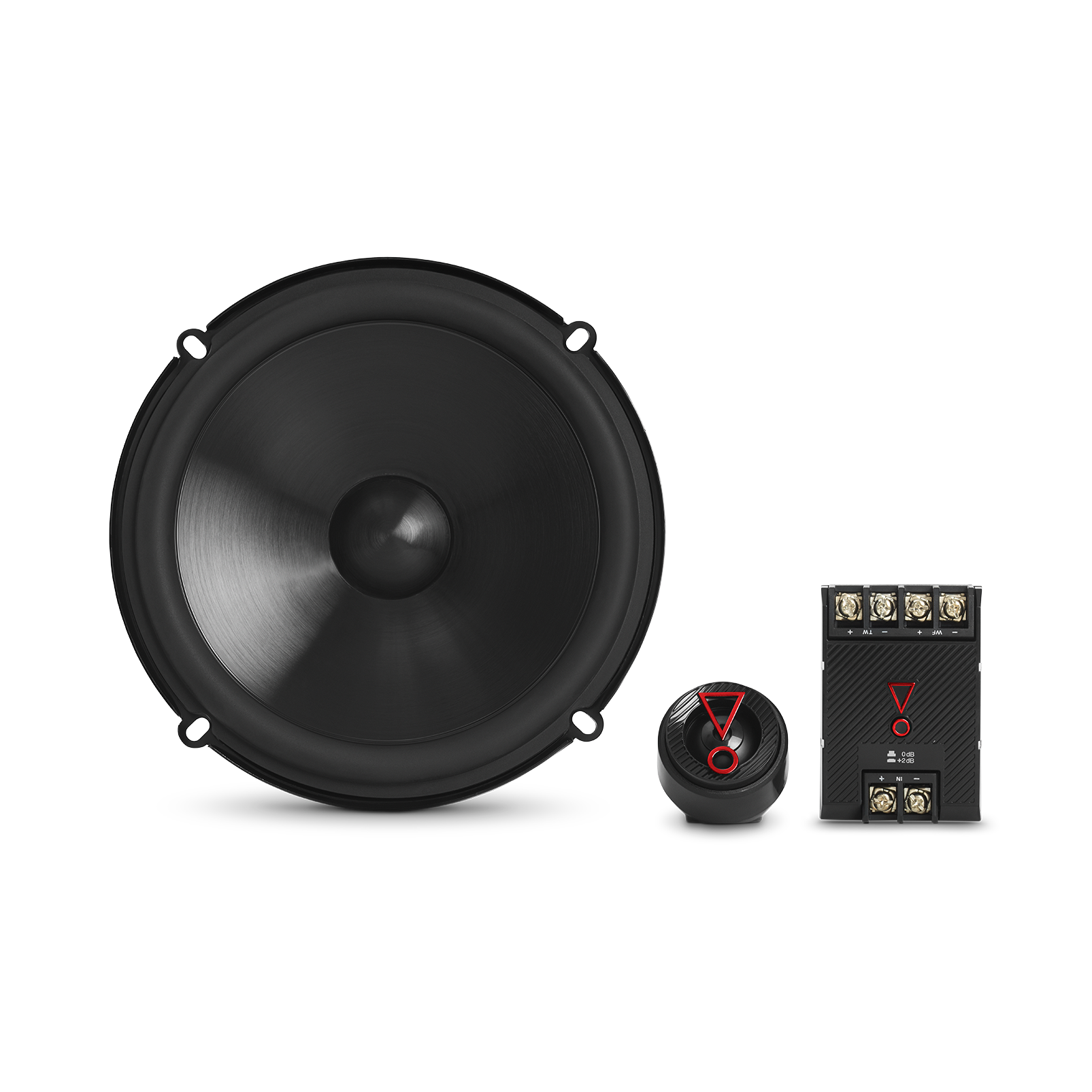 """Stage3 607C - Black - 6-1/2"""" (165mm)  2-Way component system  car speaker - Detailshot 2"""