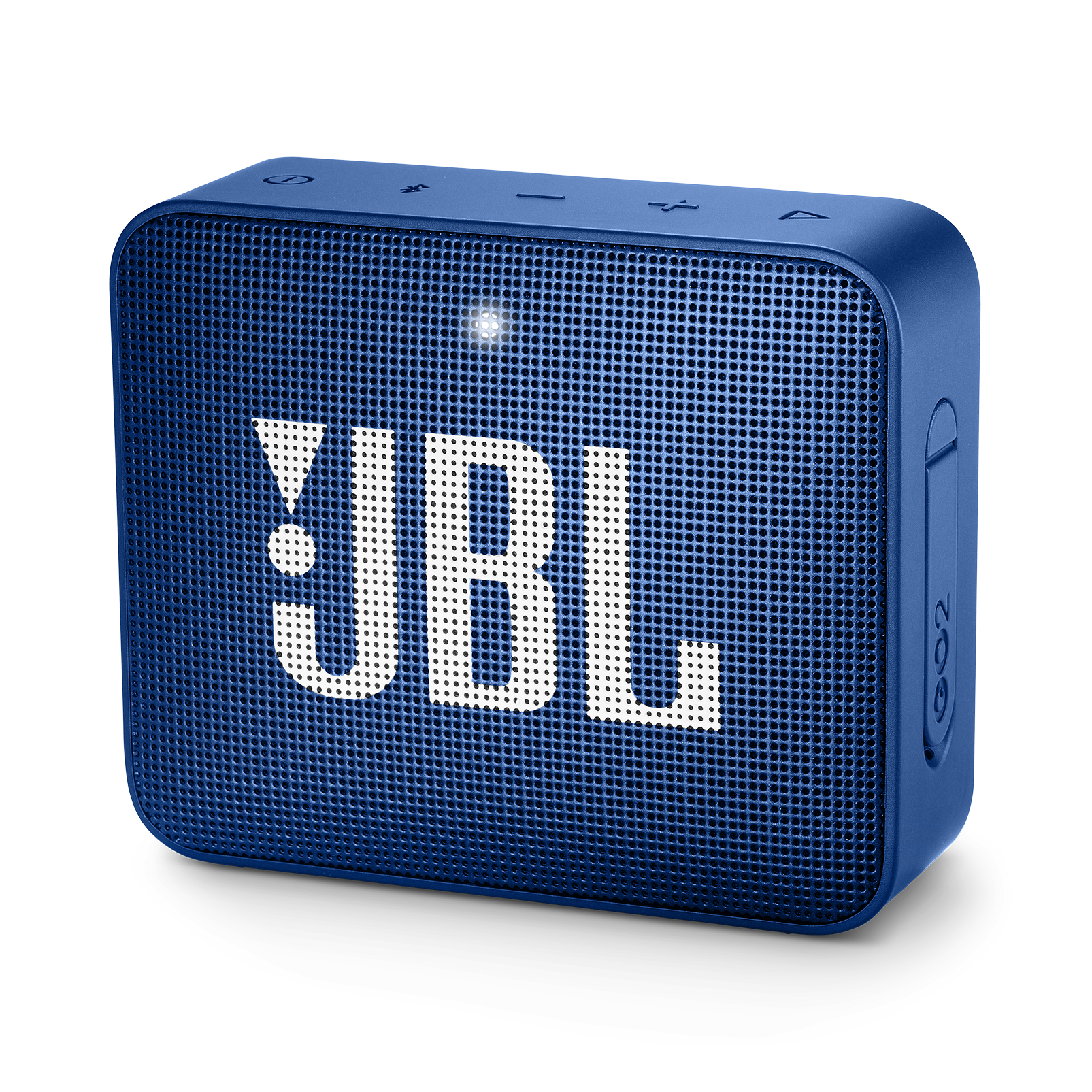 JBL GO 2 - Deep Sea Blue - Portable Bluetooth speaker - Hero