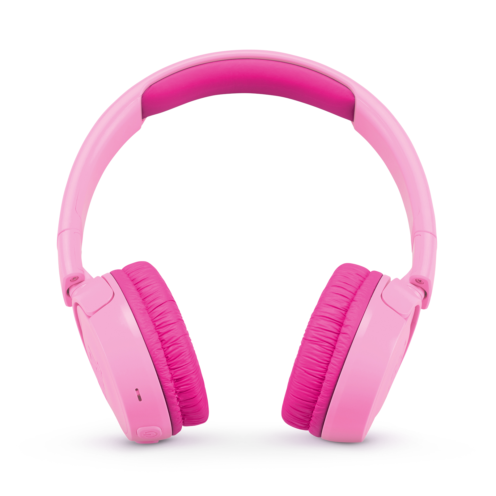 JBL JR300BT - Punky Pink - Kids Wireless on-ear headphones - Front