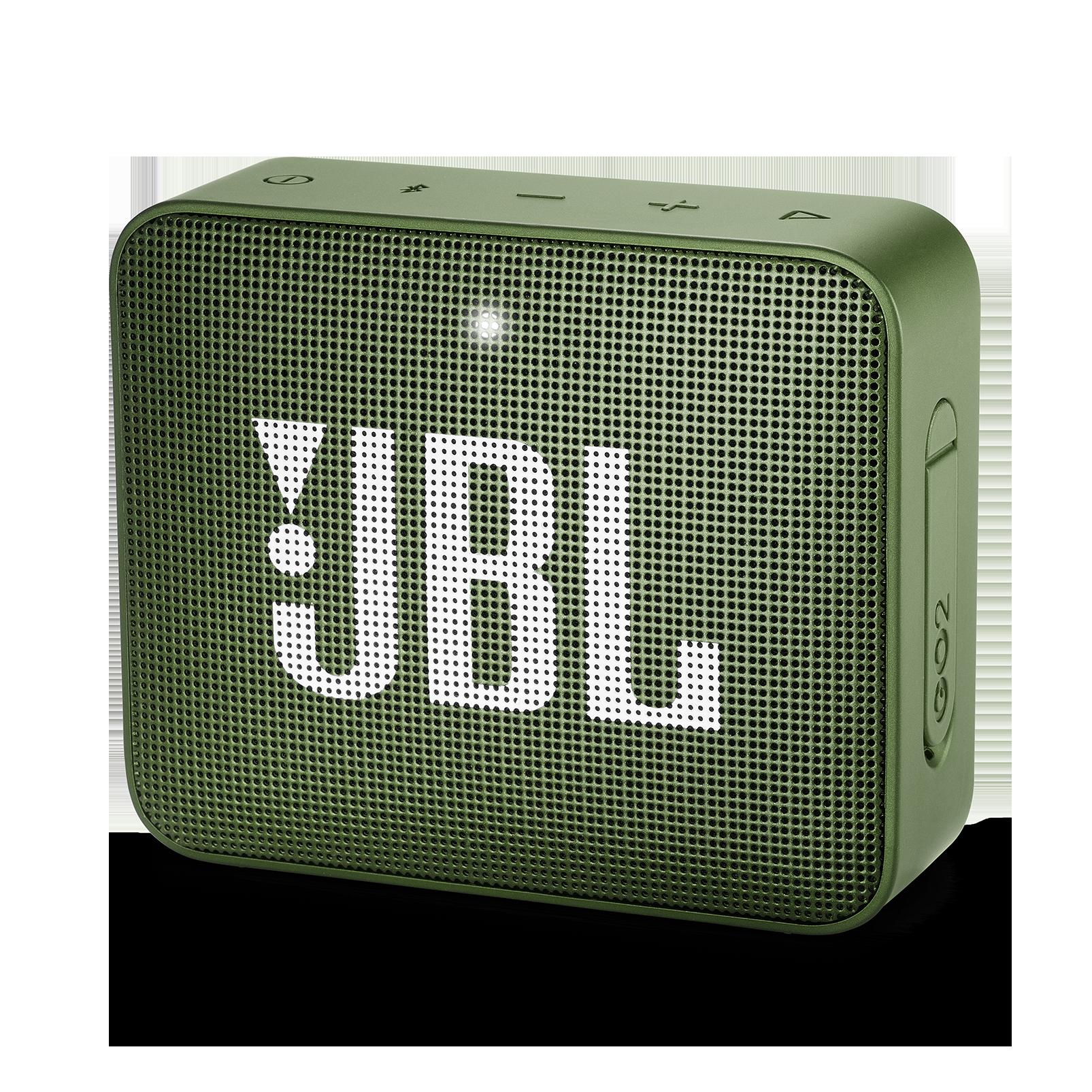 JBL GO 2 - Moss Green - Portable Bluetooth speaker - Hero