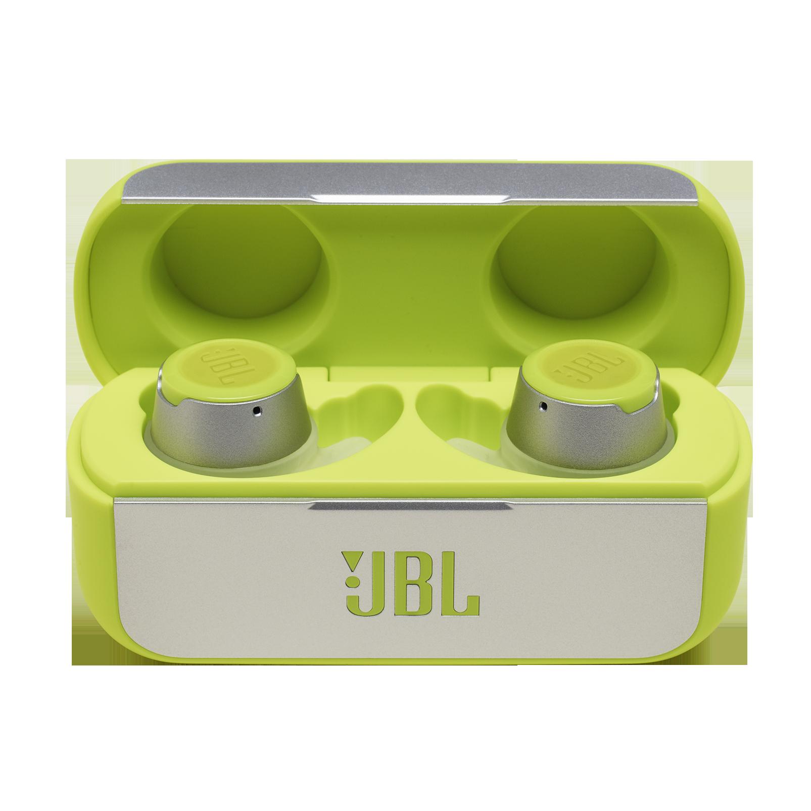 JBL REFLECT FLOW - Green - True wireless sport headphones. - Hero