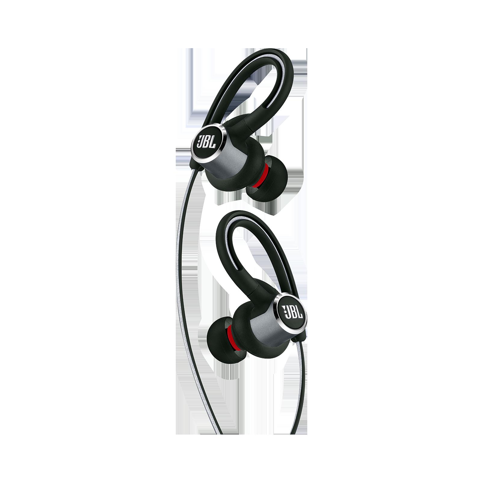 JBL Reflect Contour 2 - Black - Secure fit Wireless Sport Headphones - Detailshot 1