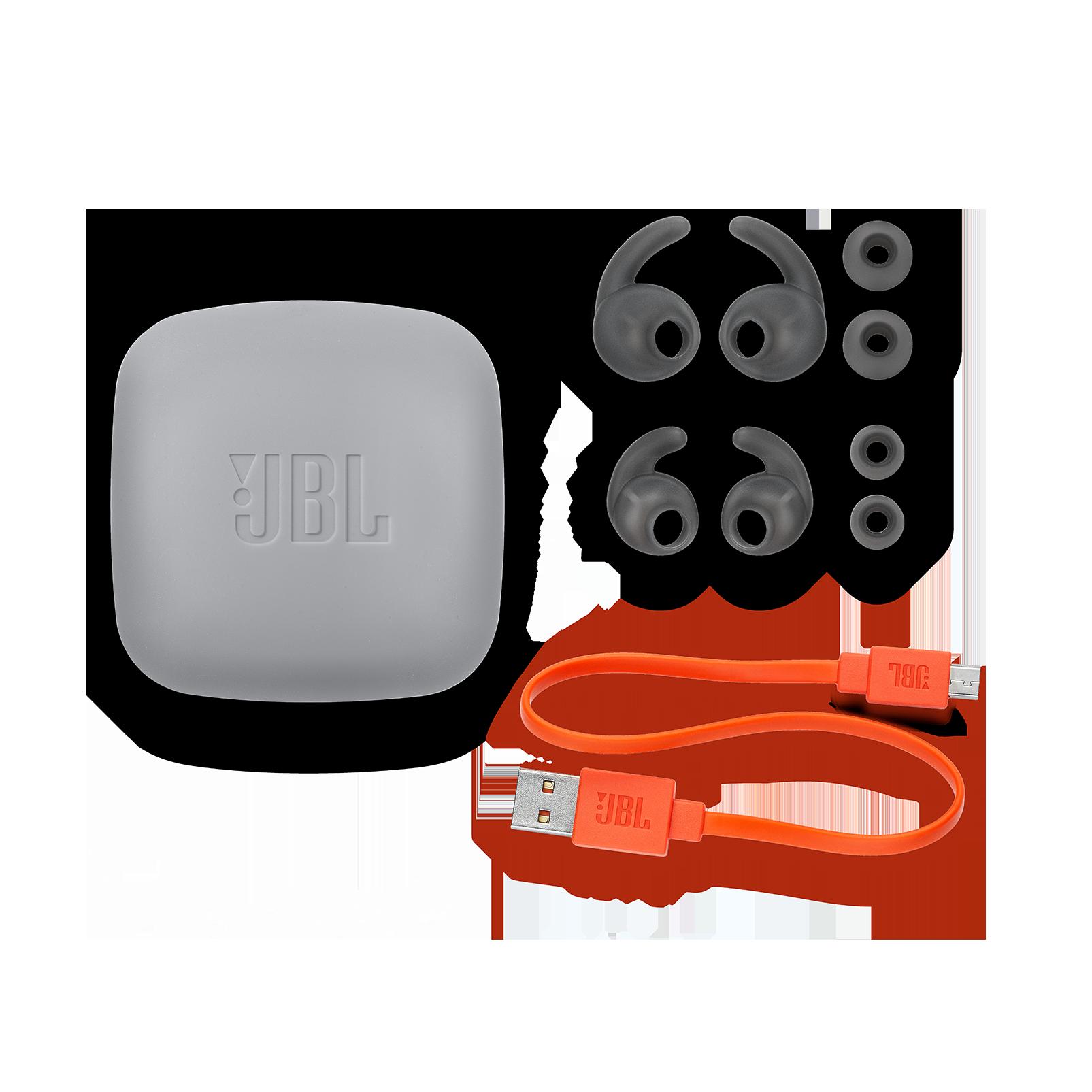JBL REFLECT MINI 2 - Green - Lightweight Wireless Sport Headphones - Detailshot 5