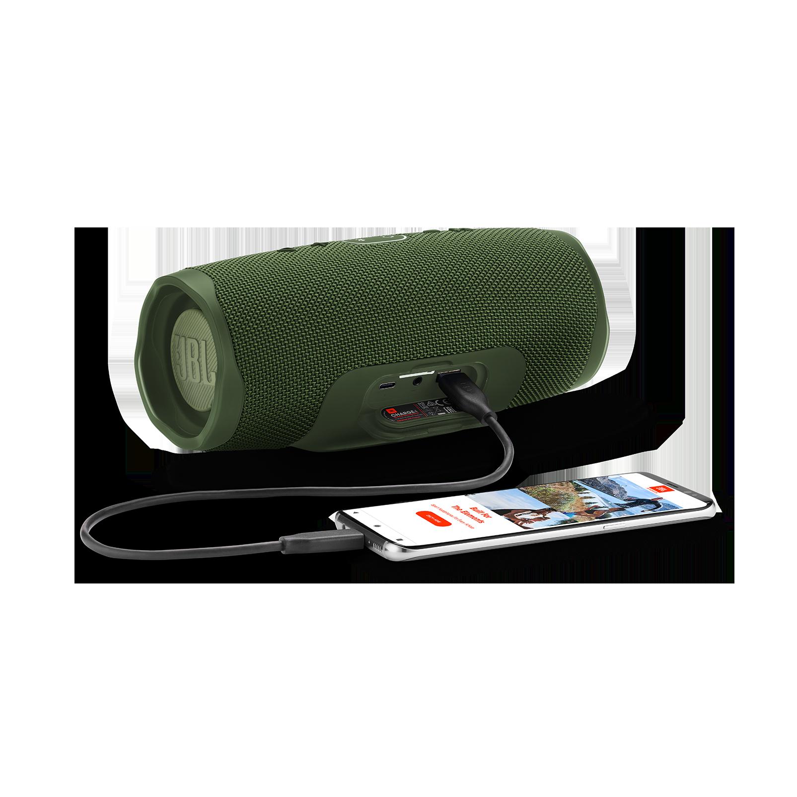 JBL Charge 4 - Forest Green - Portable Bluetooth speaker - Detailshot 4