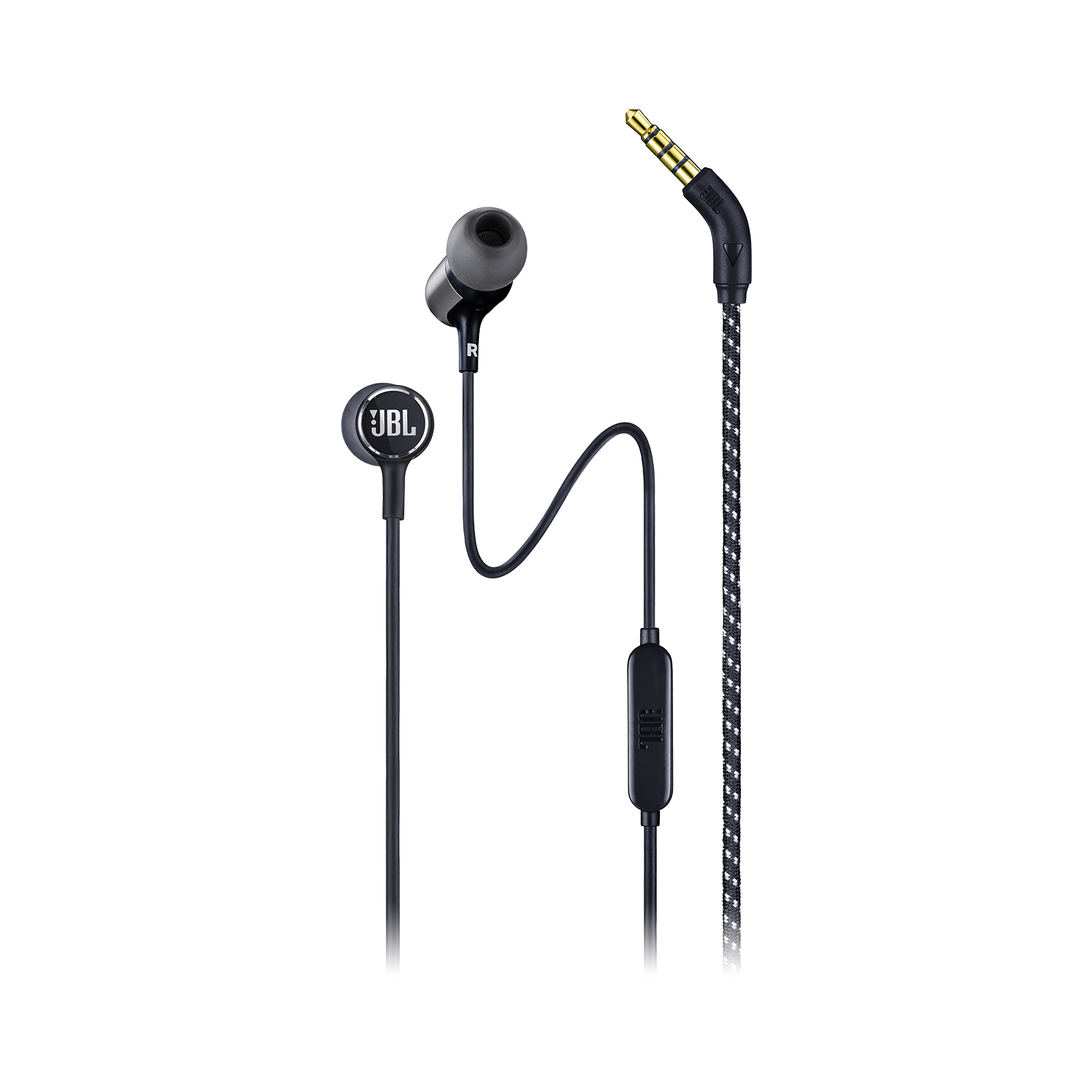 JBL LIVE 100 - Black - In-ear headphones - Hero