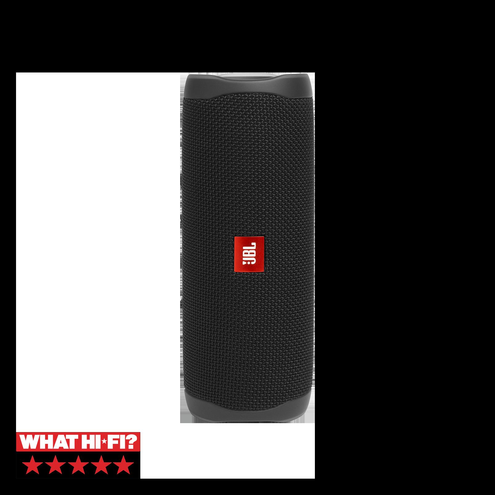 JBL FLIP 5 - Black Matte - Portable Waterproof Speaker - Hero