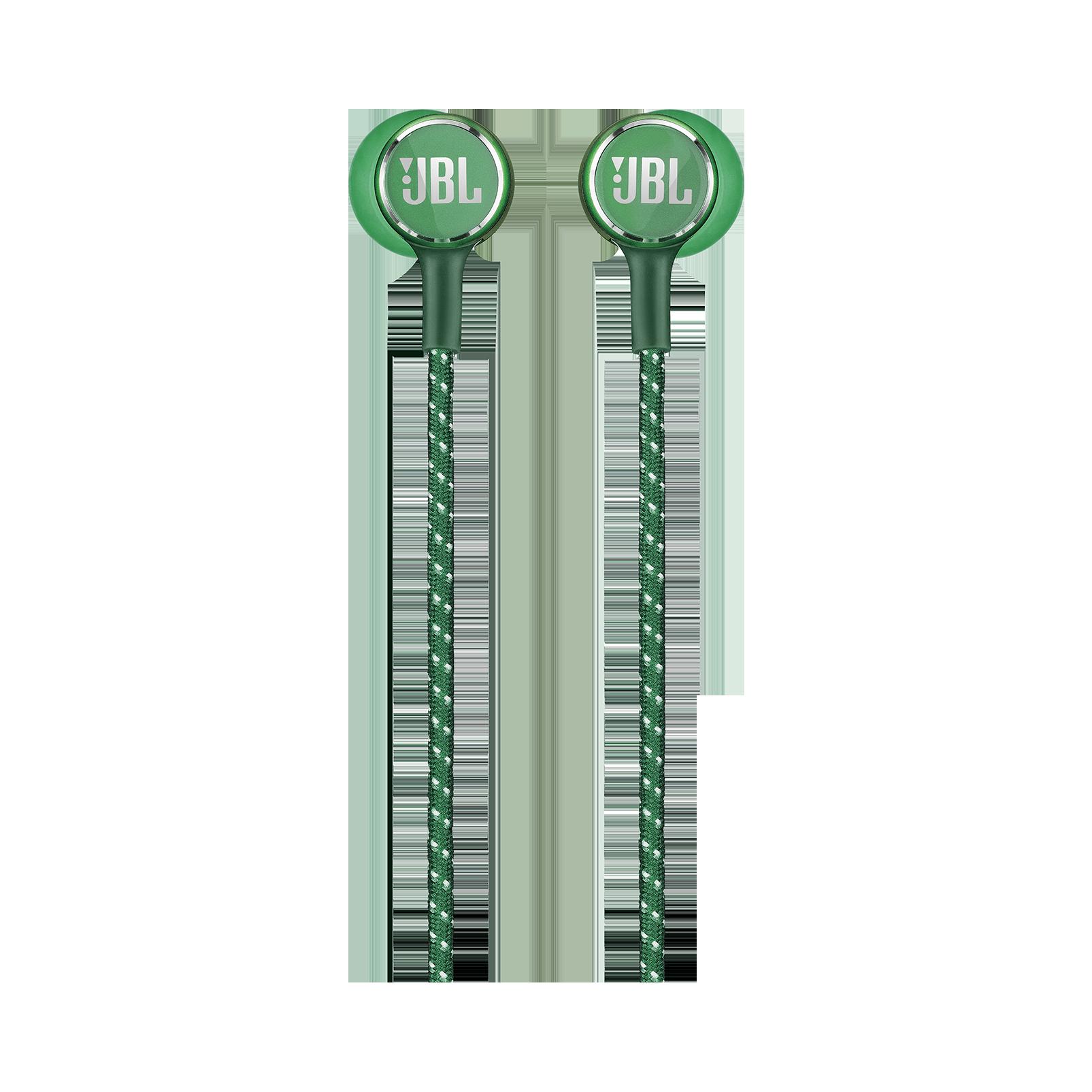 JBL LIVE 200BT - Green - Wireless in-ear neckband headphones - Front
