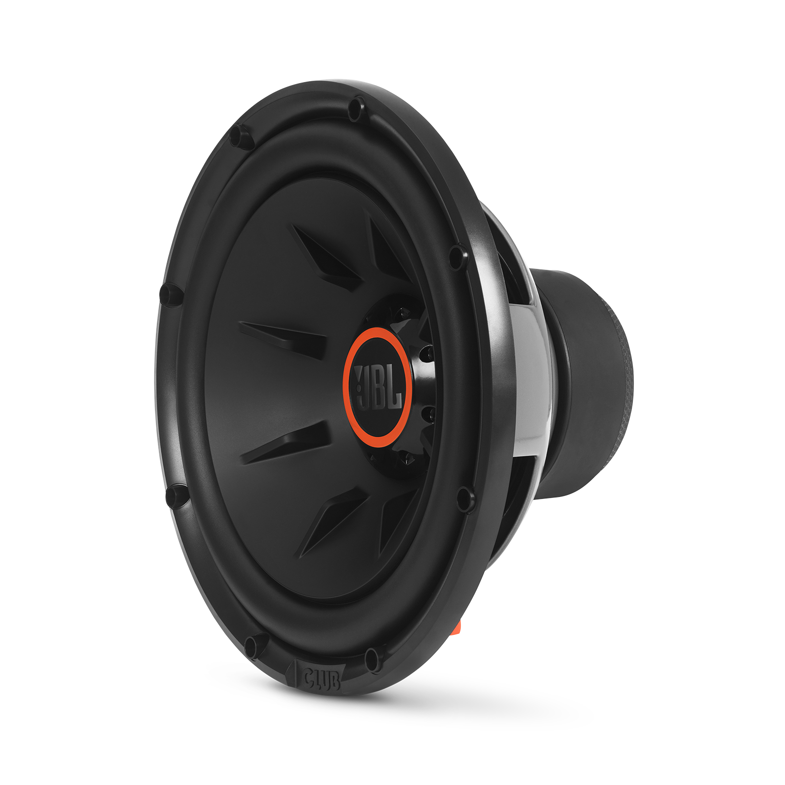 """Club 1224 - Black - 10"""" (250mm) and 12"""" (300mm) car audio subwoofers - Hero"""