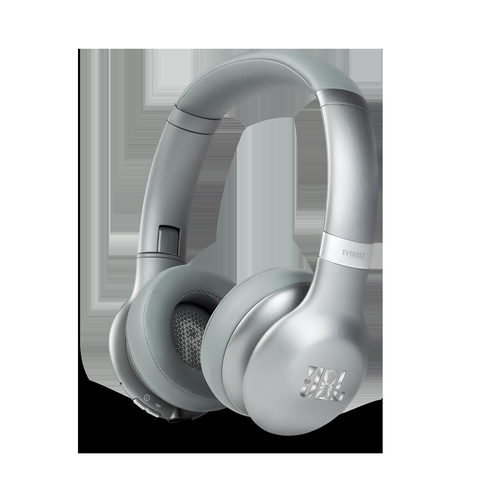 JBL EVEREST™ 310 - Silver - Wireless On-ear headphones - Hero