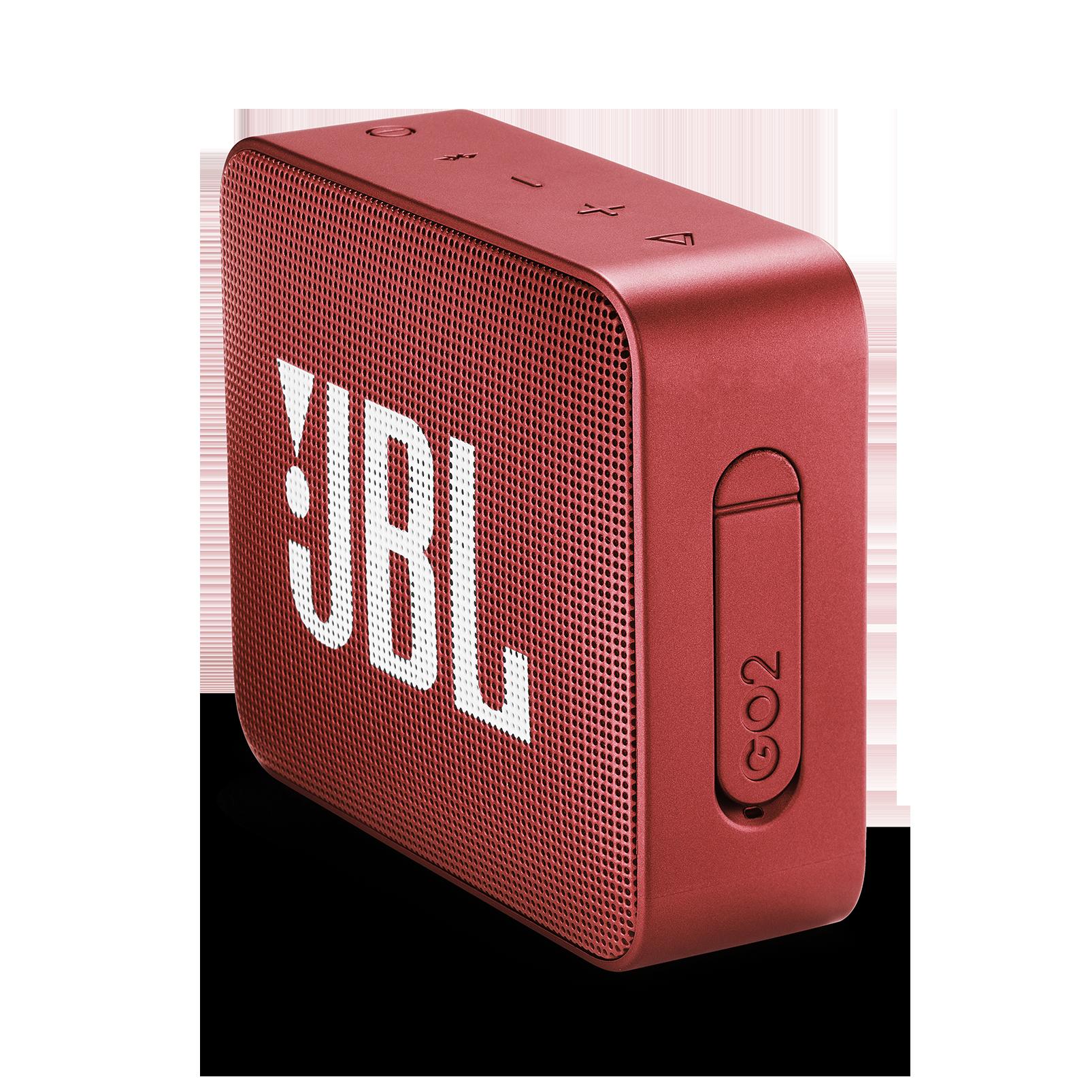 JBL GO 2 - Ruby Red - Portable Bluetooth speaker - Detailshot 2