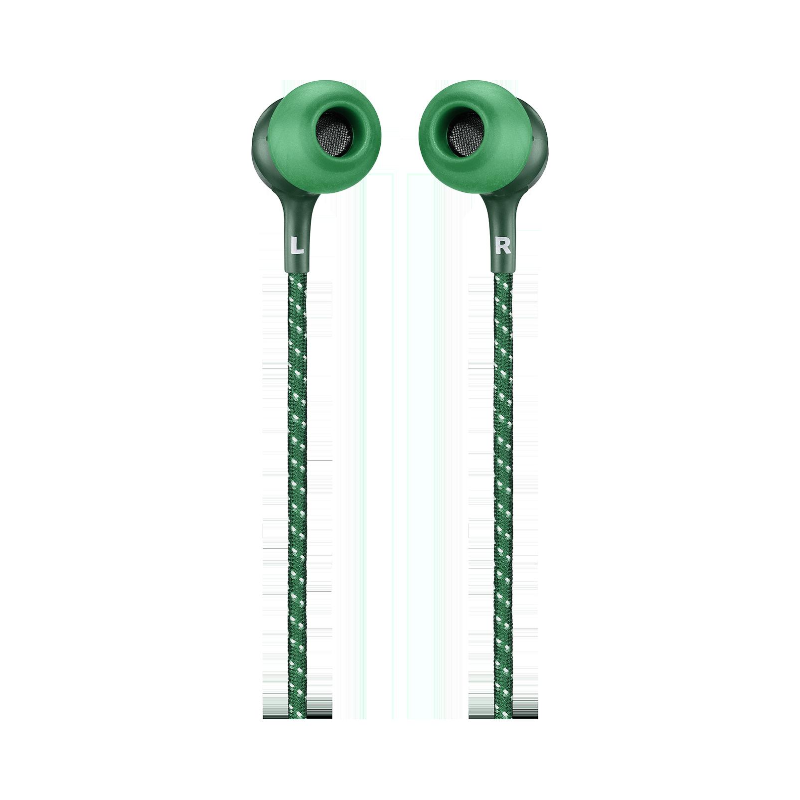 JBL LIVE 200BT - Green - Wireless in-ear neckband headphones - Back