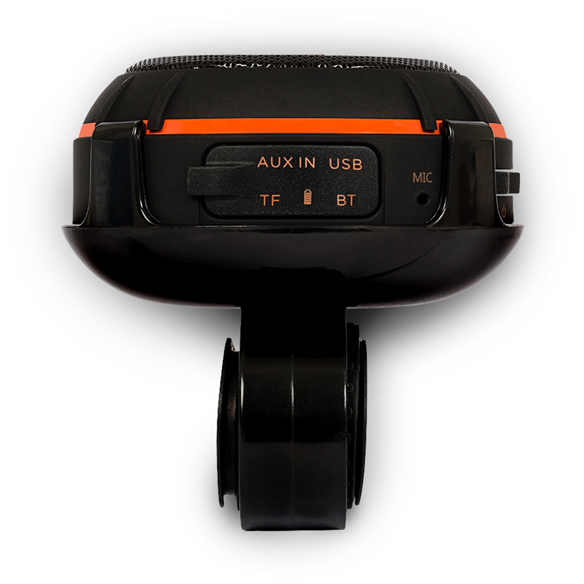 JBL Wind - Black - 2 in 1 - On the road and on the go speaker - Back
